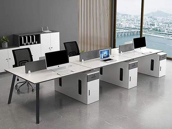 屏风办公桌图片-南京办公家具厂家
