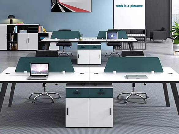 屏风办公桌材质-南京办公家具厂家